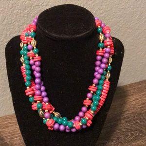 3/$15 mixed media necklace